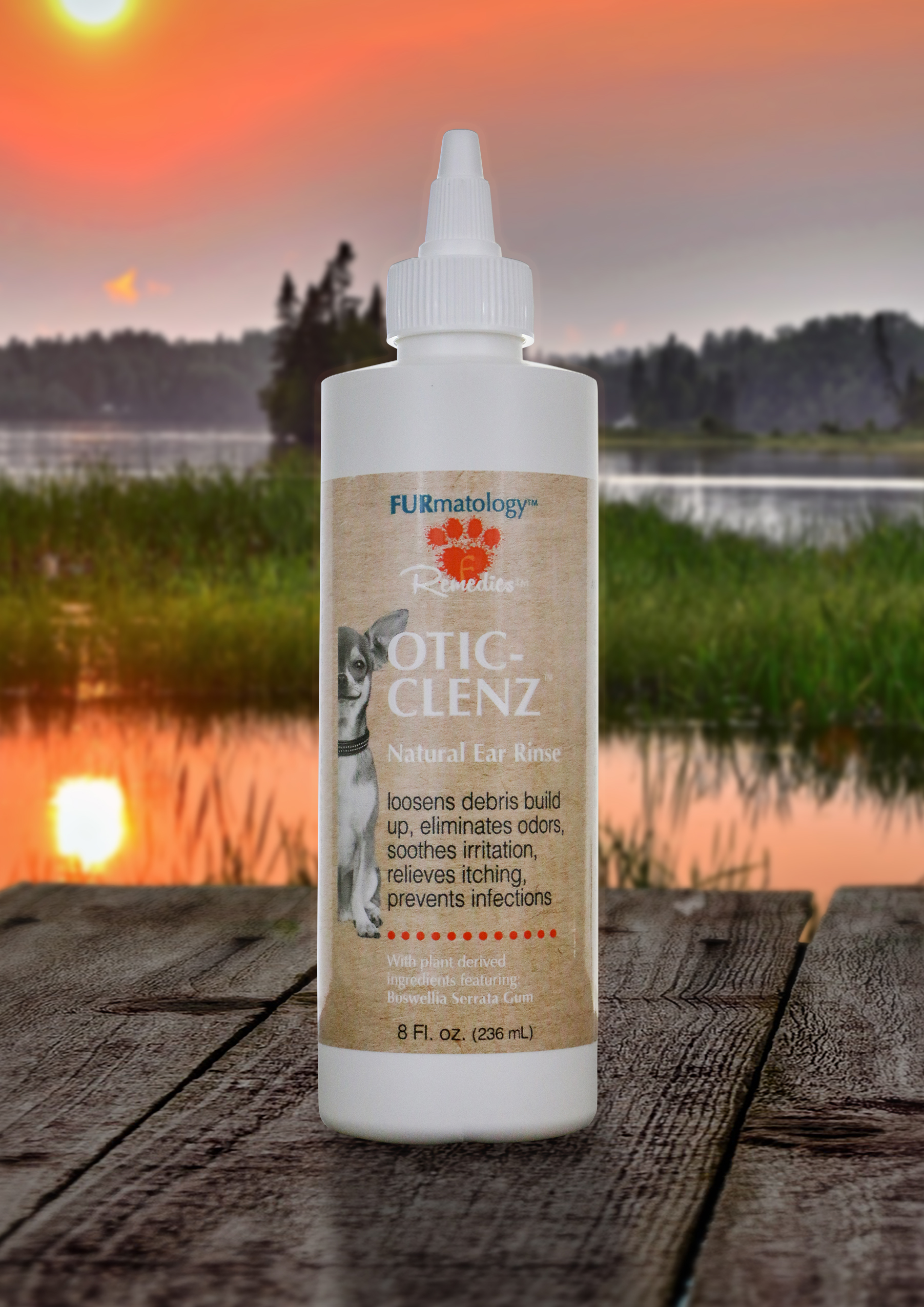 FURmatology OTIC-CLENZ Natural Ear Rinse