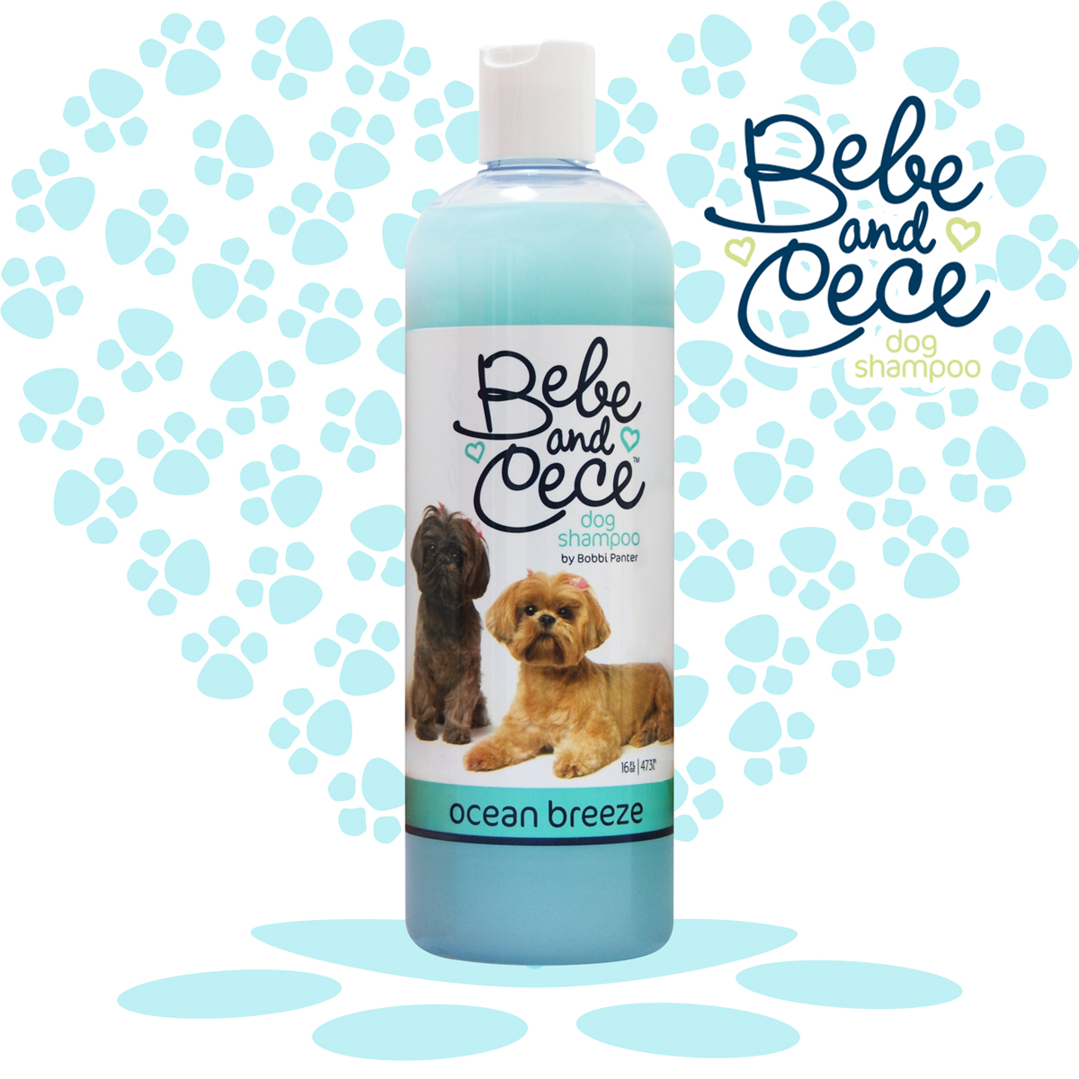 Bebe and Cece Ocean Breeze Dog Shampoo by Bobbi Panter