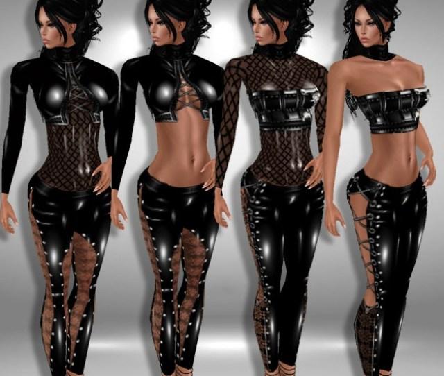 Sexy Pvc Outfits 1