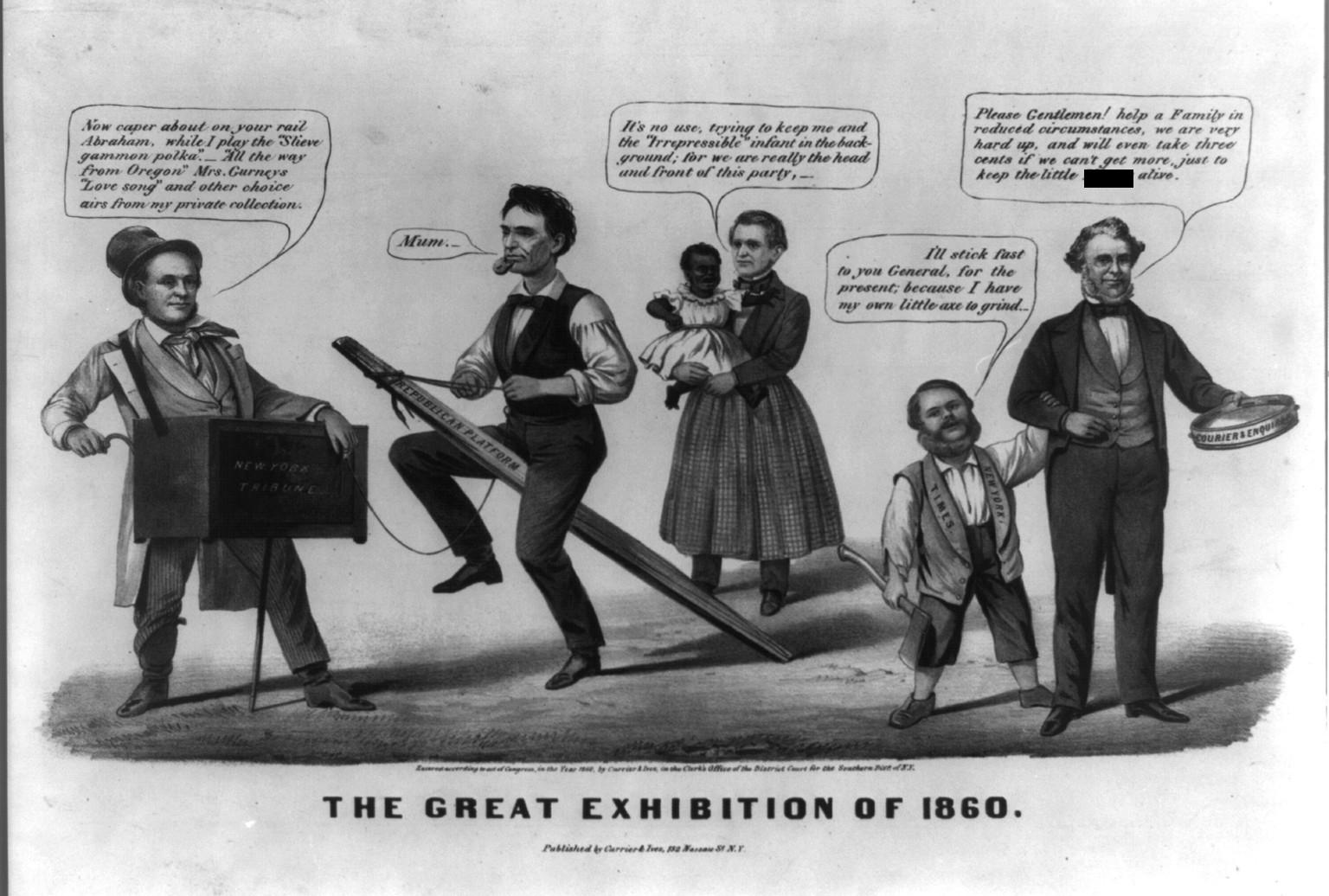 Slavery Political Cartoons