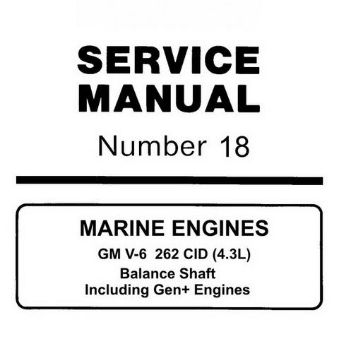 mercury marine mercruiser service manual 18 marine e