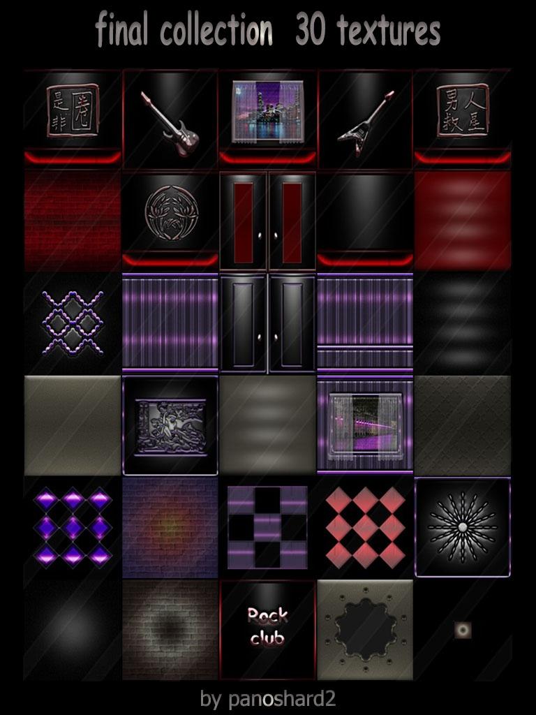 Purple Imvu Wall Textures