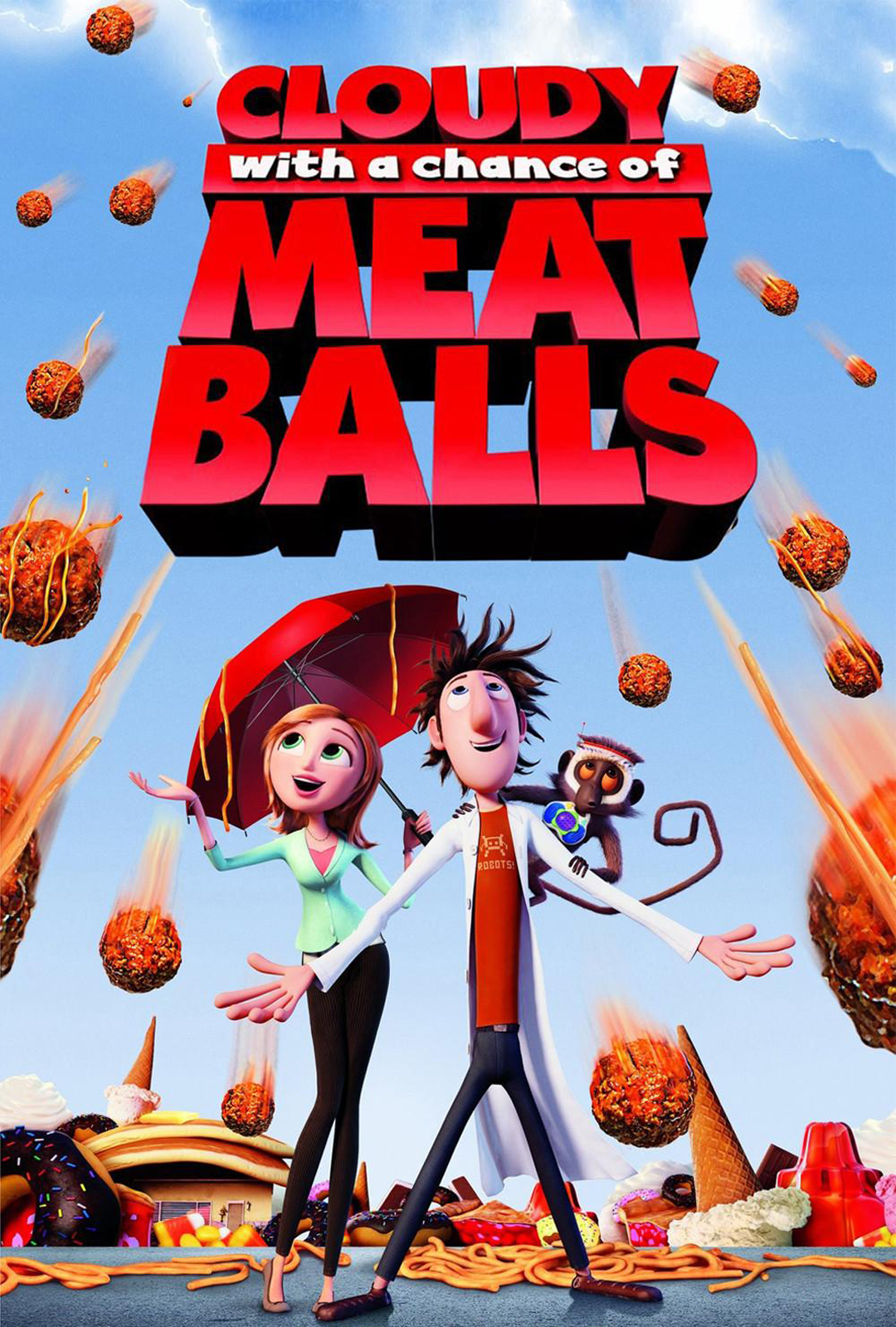 Cloudy With A Chance Of Meatballs 2d