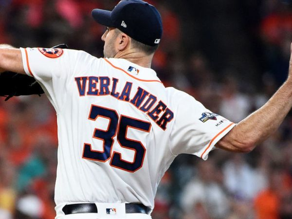 Verlander passes Pettitte for 2nd on all-time playoff strikeout list