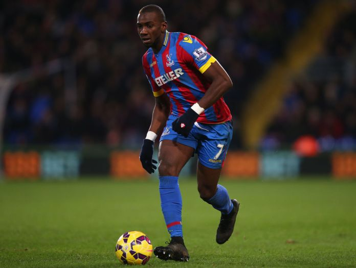 Yannick Bolasie in crystal palace
