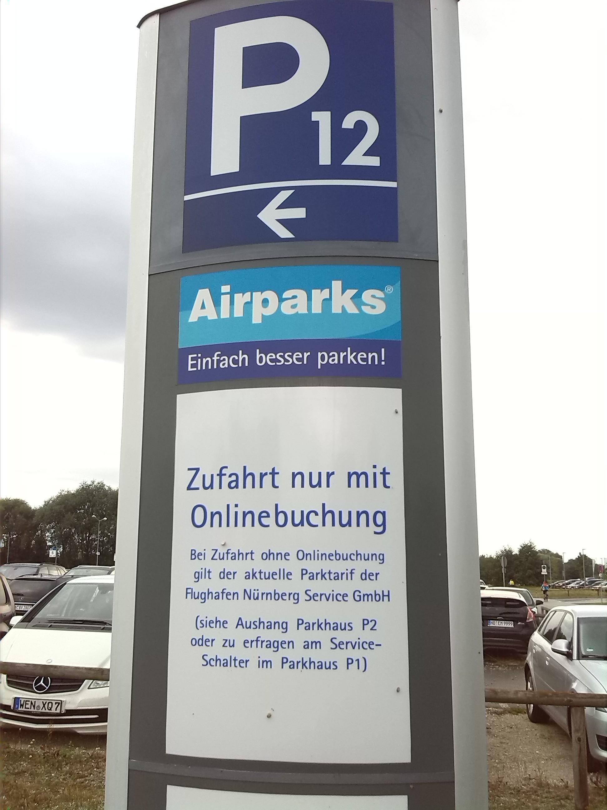 Nue P12 Parking In Nurnberg Parkme