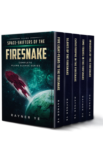 Cover of Space-Shifters of the Firesnake