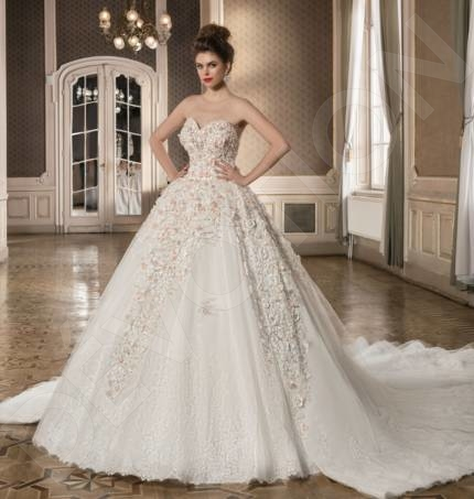 Pippa-Majestic Classic Tulle Wedding dress White | Devotiondresses.com
