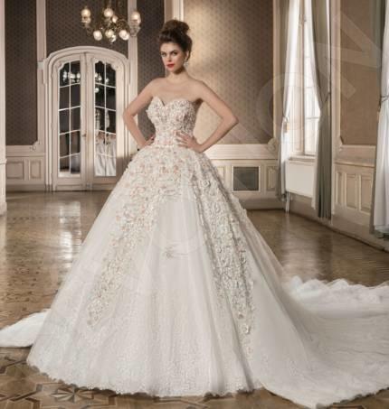 Pippa-Majestic Classic Tulle Wedding dress White | Devotiondresses.com