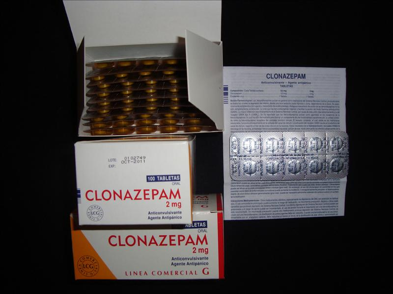 Klonopin Clonazepam 2 Mg X 100 Units Pills