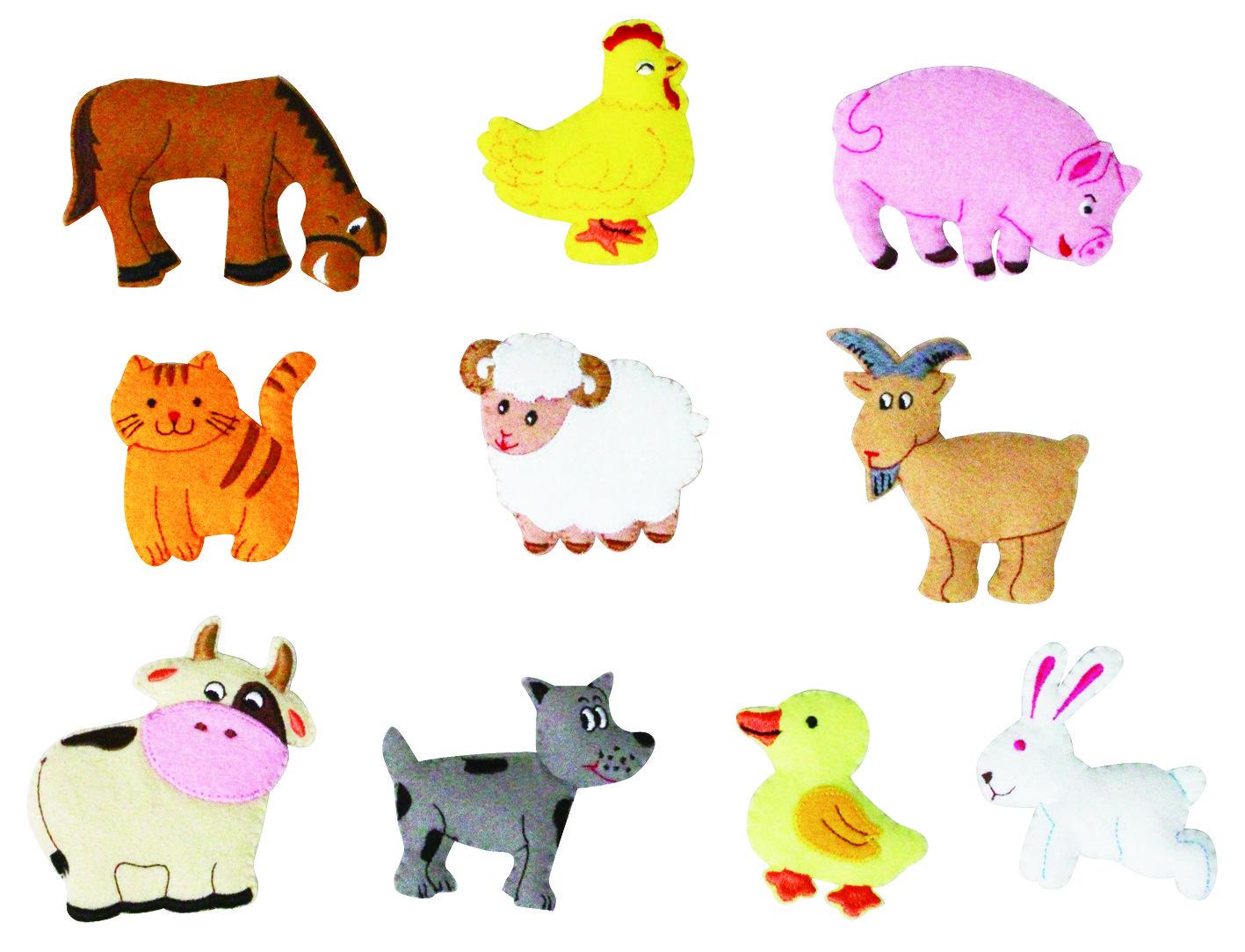 Farm Animals Motifs