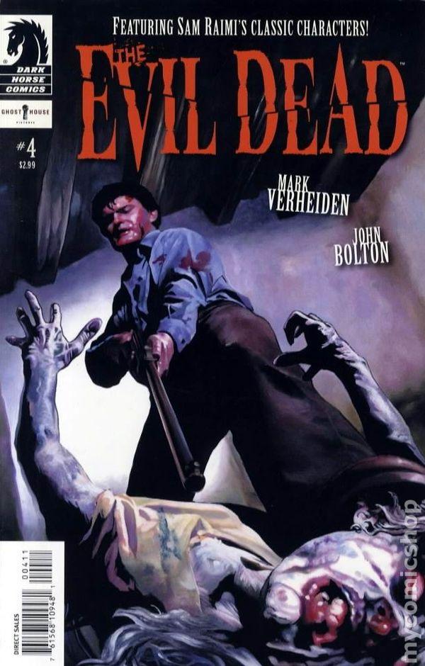 Evil Dead 2008 Comic Books