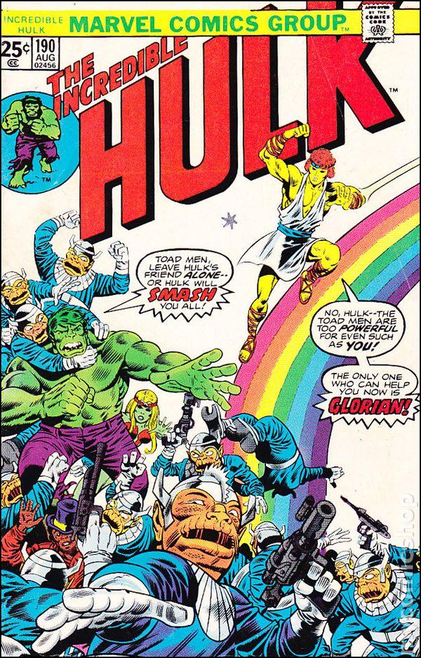 Incredible Hulk (v1) #190 Cover