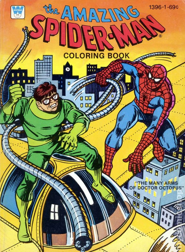 comic books in 39 spider man coloring book 39