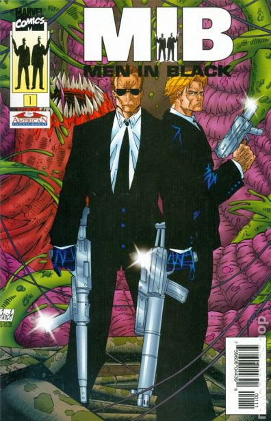 Men in Black comic books issue 1