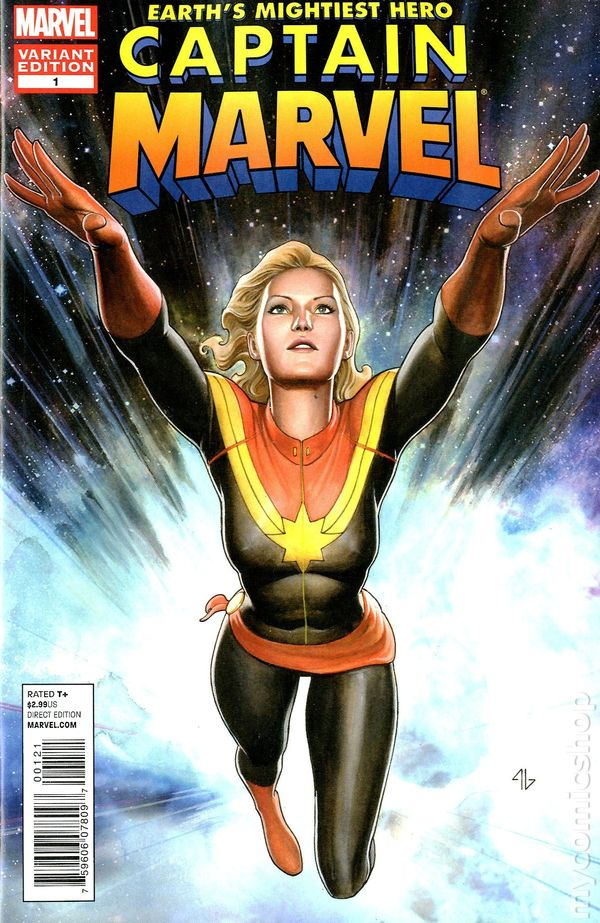 Captain Marvel 2012 7th Series Comic Books
