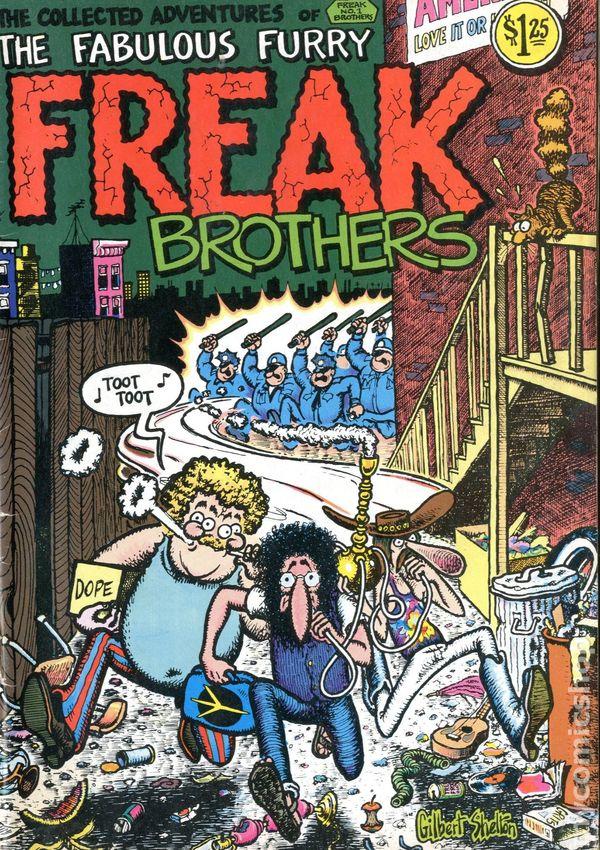 Fabulous Furry Freak Brothers Rip Off Press Comic Books