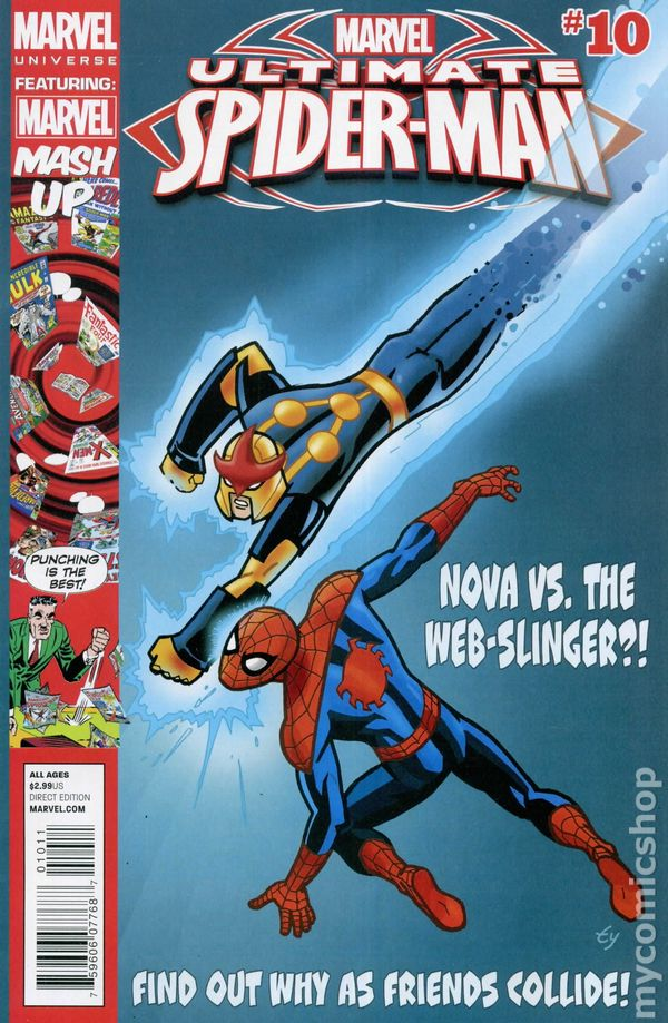 Ultimate Spider Man 2012 Marvel Universe Comic Books