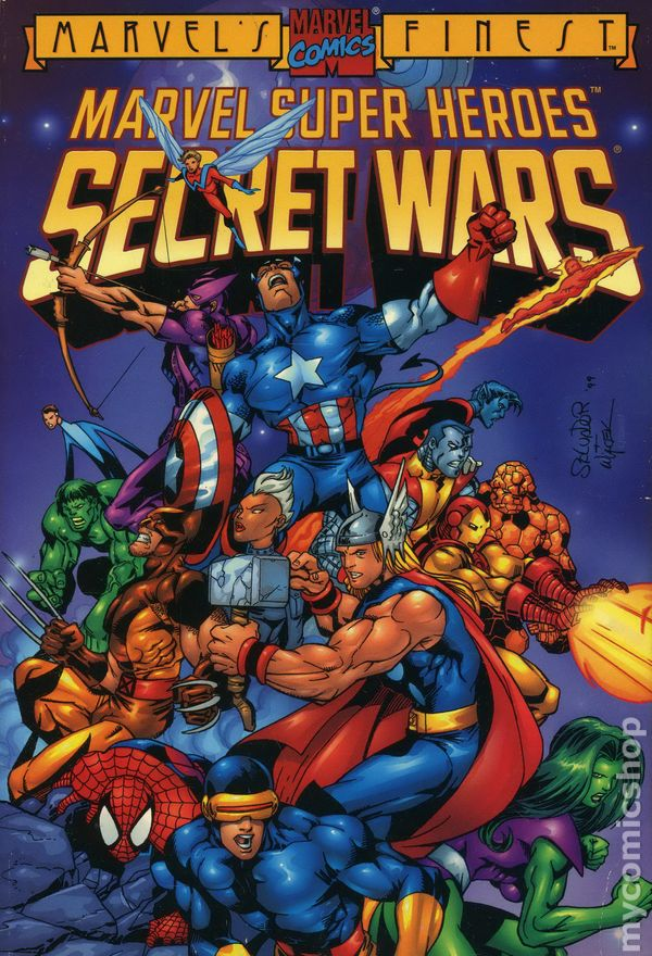 Marvel Super Heroes Secret Wars TPB 1992 Marvel 1st Edition Comic Books