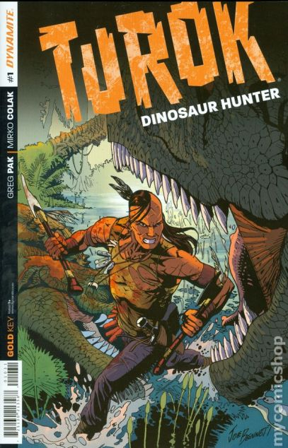 Turok Dinosaur Hunter (2014 Dynamite) comic