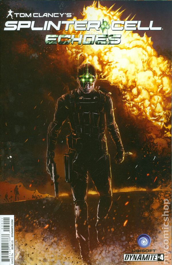 Tom clancy splinter cell echoes 2014 comic books, coloring pages