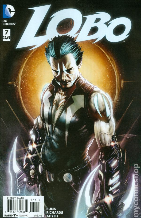 Lobo 2014 dc comic books, i love you color pages