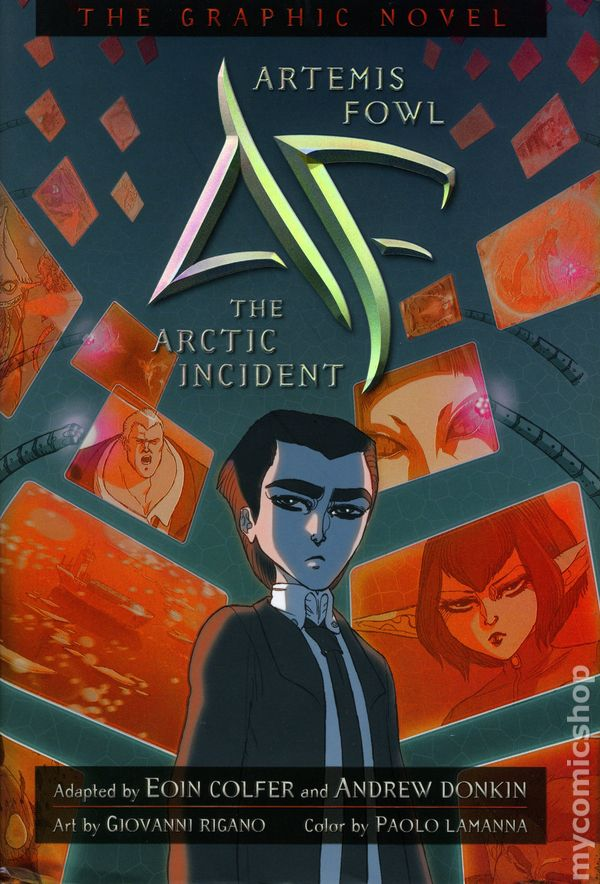 Comic books artemis fowl hc disneyhyperion, love color pages