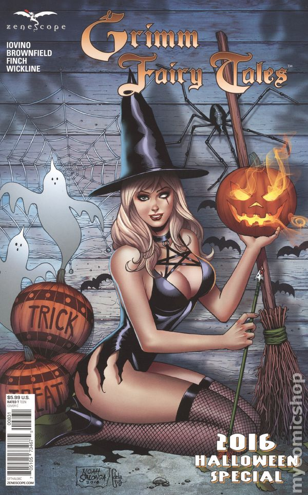 Grimm Fairy Tales Halloween Special 2009 Comic Books