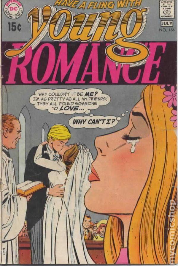 Young Romance Comics 1963 1975 Dc Comic Books