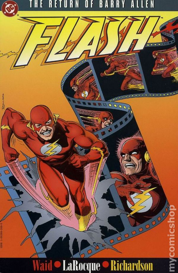 The Flash: The Return of Barry Allen Cover
