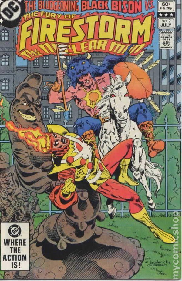 Firestorm (v2) #2 Cover