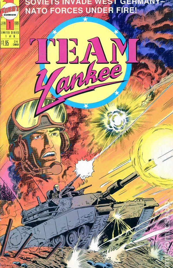Team Yankee 1988 Comic Books