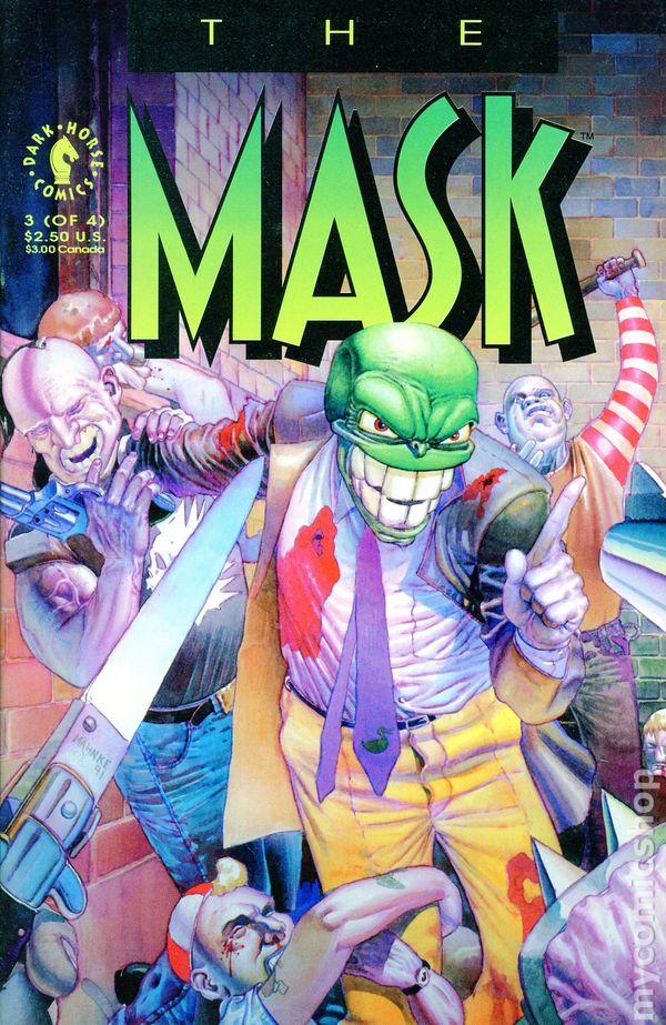 Mask 1991 Dark Horse Comic Books