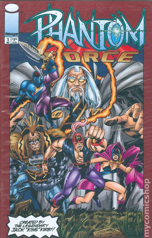 Phantom Force 1993 Comic Books