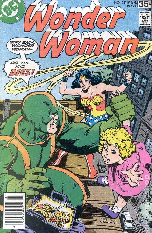 Wonder Woman 1942 1986 1st Series DC Comic Books