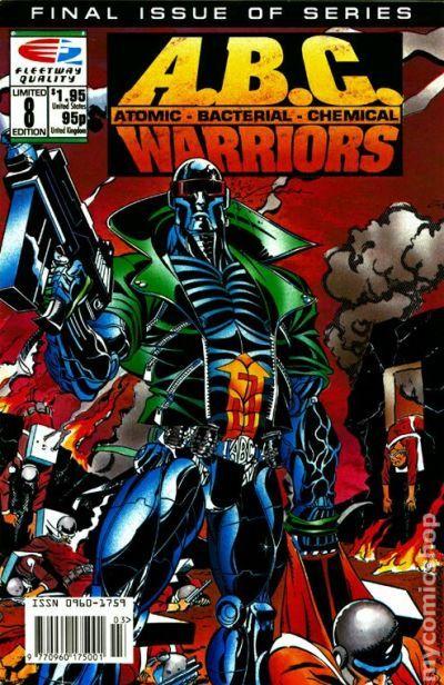 ABC Warriors 1991 Comic Books