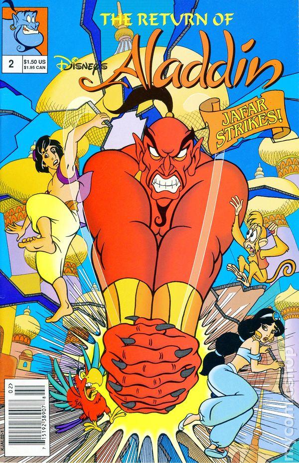 Return Of Disneys Aladdin 1993 Comic Books