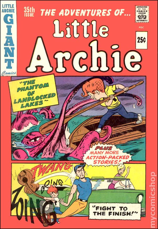 Little Archie 1956 Comic Books