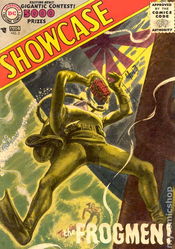 Showcase Comic Books