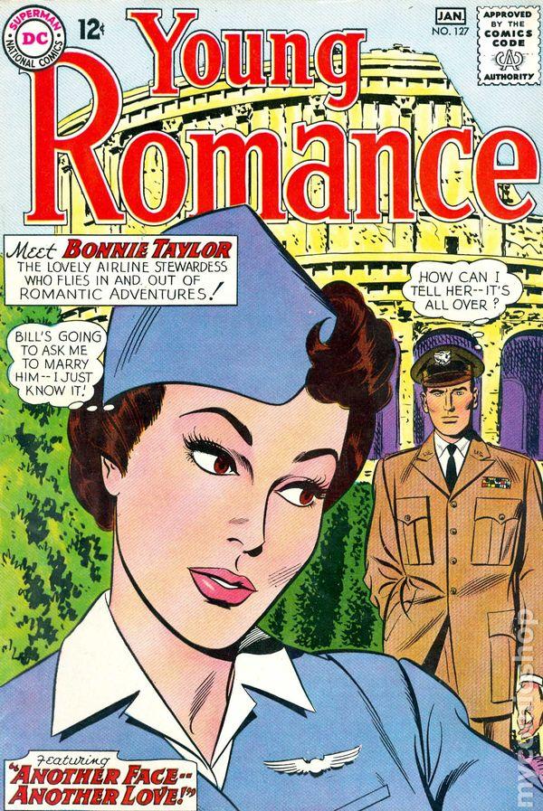 Young Romance Comics 1963 1975 Dc Comic Books 1964