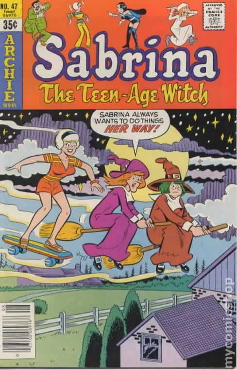 Sabrina The Teenage Witch 1971 1st Series Comic Books