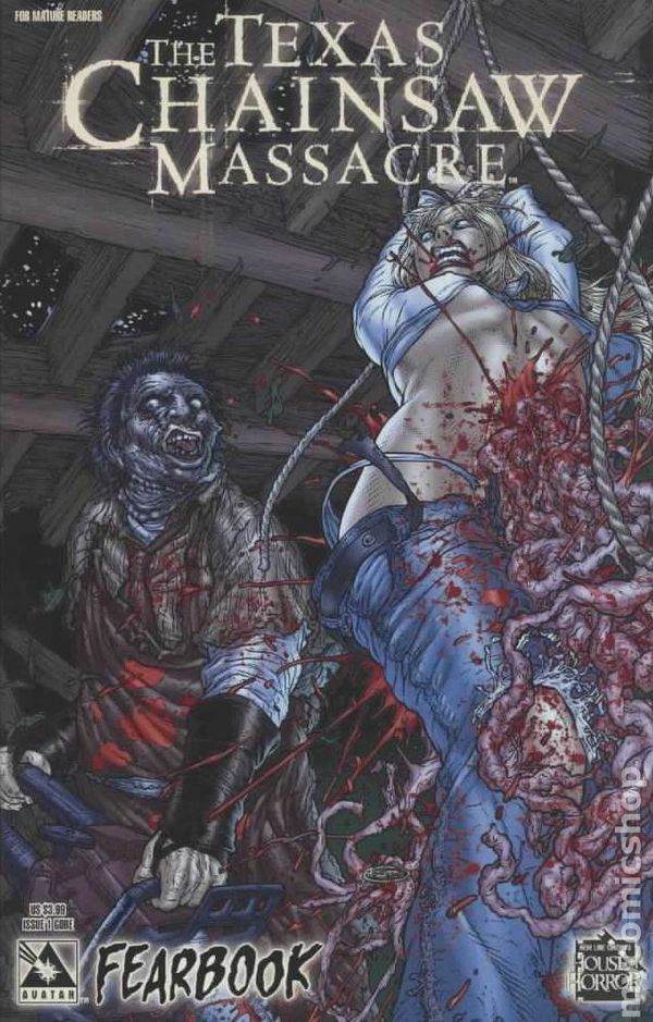 Texas Chainsaw Massacre Fearbook 2006 Comic Books