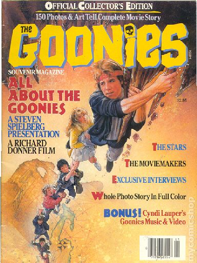 Goonies Official Souvenir Magazine Comic Books
