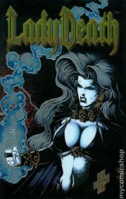 Image result for lady death between heaven and hell #1