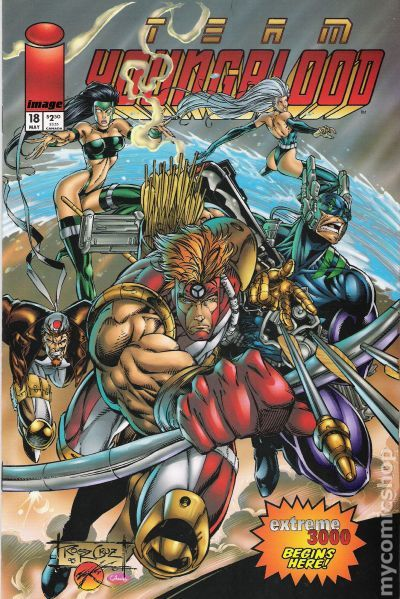 Team Youngblood 1993 Comic Books