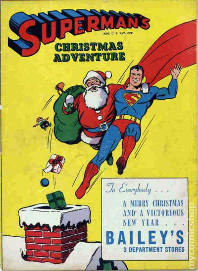 Supermans Christmas Adventure 1940 Comic Books