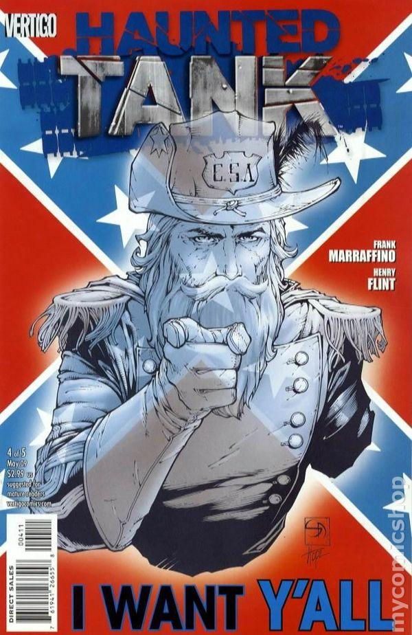 Haunted Tank 2008 DCVertigo Comic Books