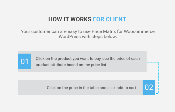 Flexible Table Pricing Matrix for WooCommerce 3