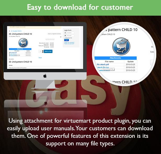 NBTeam – Plugin Attachment file for Virtuemart Product