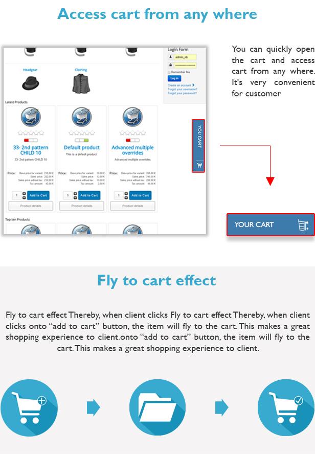 Module Cart Pro For Virtuemart